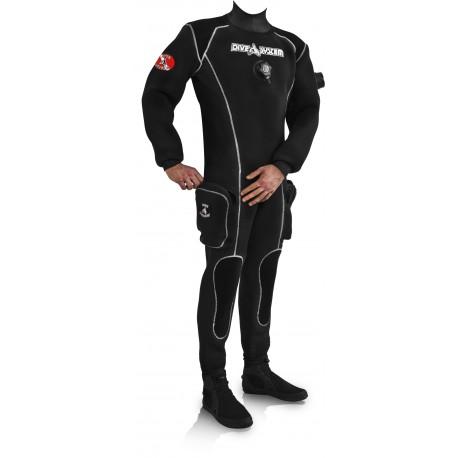 Skafander Dive System Black Ice